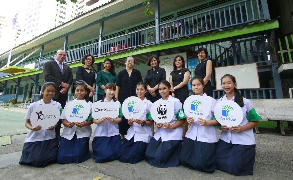 ออนิกซ์ ฮอสพิทาลิตี้ กรุ๊ป เปิดตัวโครงการ Eco-Schools